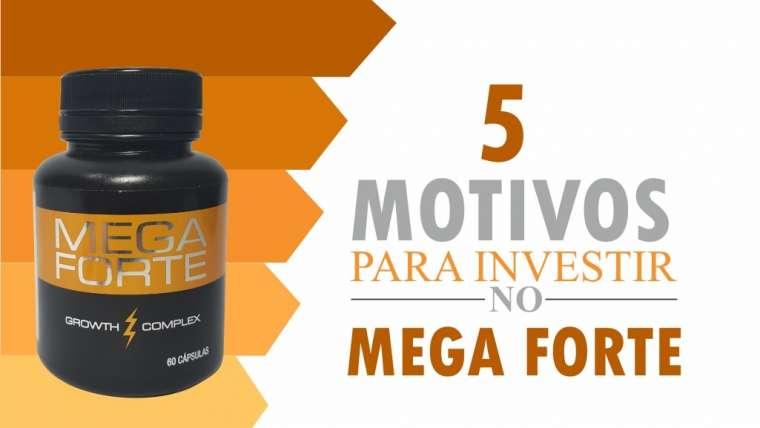Mega Forte: 5 motivos para comprar esse suplemento!