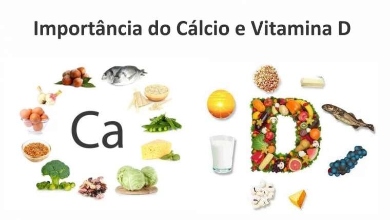 Importâncias do Cálcio e Vitamina D