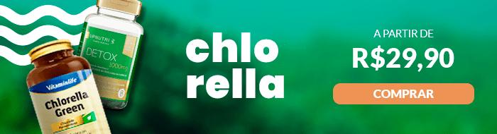 Promoção de Chlorella só na Nature Center
