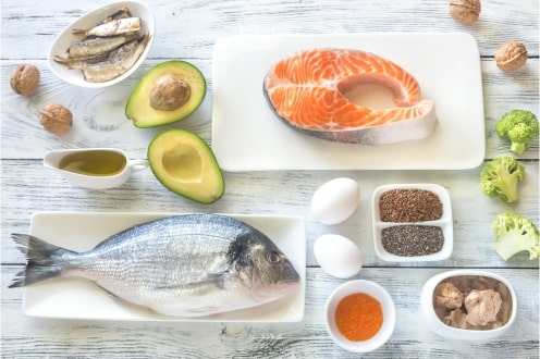 Alimentos ricos em Ômega 3. Fonte: Freepik.